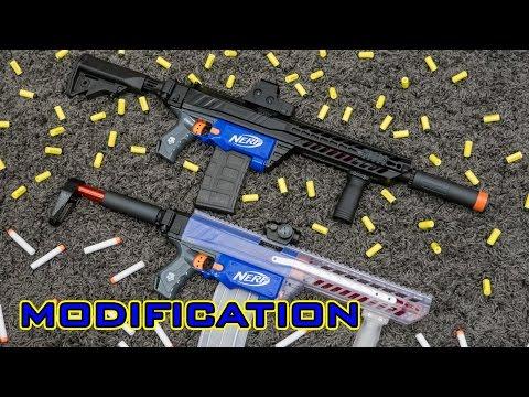[MOD] Nerf Retaliator Modification   Sig Sauer MCX Kit + More!