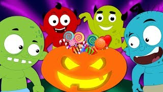 Halloween Is Back Scary Nursery Rhymes | Baby Songs & Children Rhyme By Haunted House