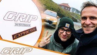 Die Kurier-Challenge: Power-SUV VS Helikopter I Audi Q8 I GRIP