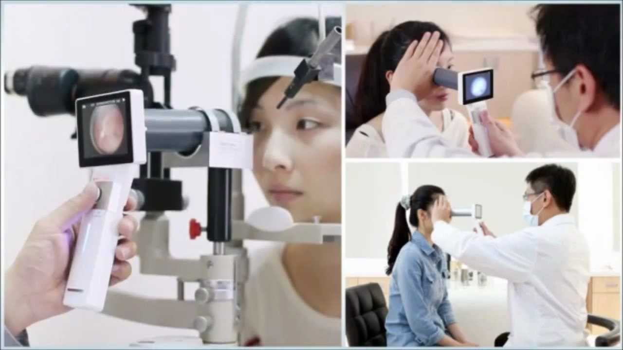 Fundus Camera Exam Eye Fundus Camera Tutorial