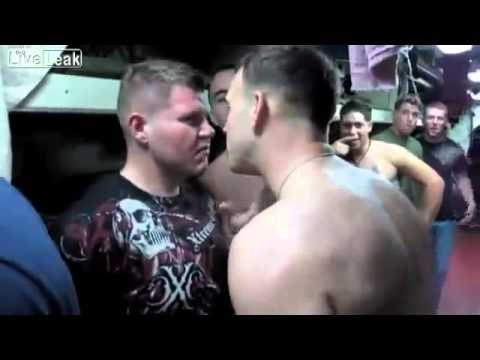 Us Marines VS Navy Sailors Fight And Drunks