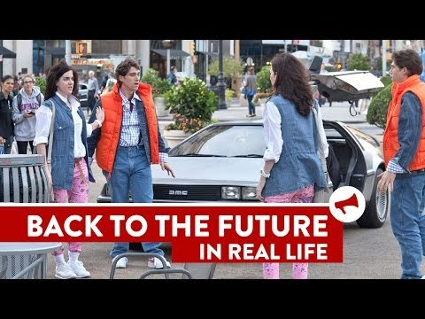 Back to the Future In Real Life - Movies In Real Life (Episode 5)
