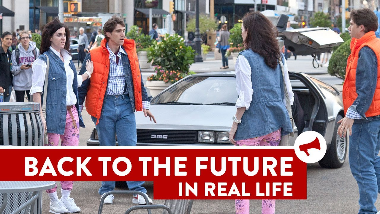 Back to the future twins prank movies in real life episode 5