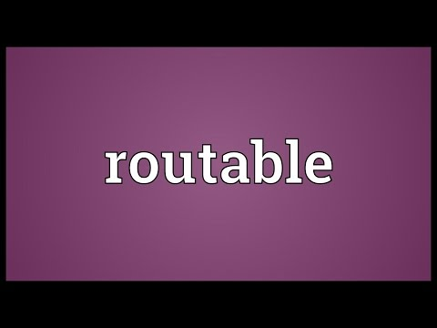 Header of Routable