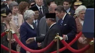 President Reagan and President Soeharto of Indonesia Remarks on October 12, 1982
