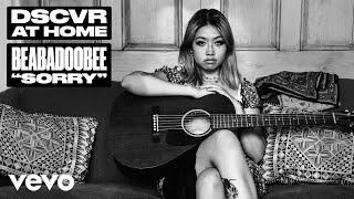 Download Lagu beabadoobee - Sorry Live  Vevo DSCVR At Home MP3