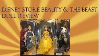 Beauty & The Beast Disney Store Live Action Film Collection Dolls Review Belle Beast Gaston