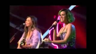 Katy Perry Video - Katy Perry Kacey Musgraves Keep it to yourself Live CMT crossroads 2014