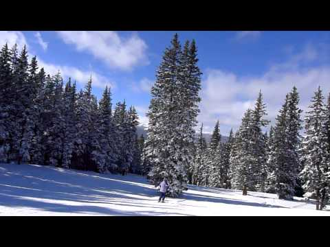 Ski Cooper - Down Homestake with the kids
