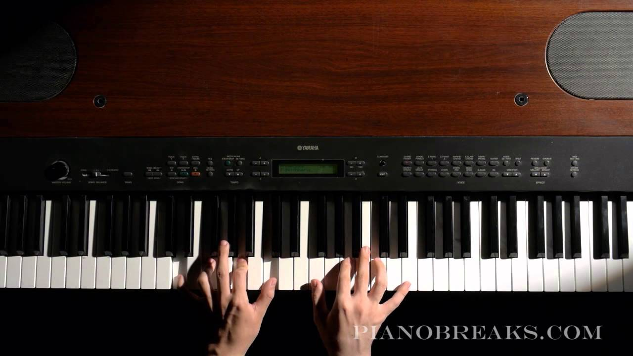 How to Play Piano Lessons For Beginners - 8 - Wave Chords - YouTube