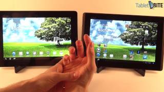Asus Transformer Prime vs Asus EEE Pad transformer - news meets the old