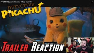 Detective Pikachu Angry Trailer Reaction!