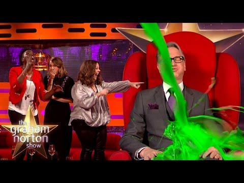 The Director of Ghostbusters Gets Slimed! - The Graham Norton Show