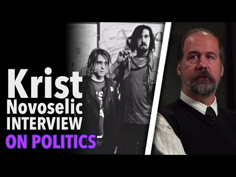 Nirvana Bass Player Krist Novoselic Has Seen The Ugly Side Of Politics video