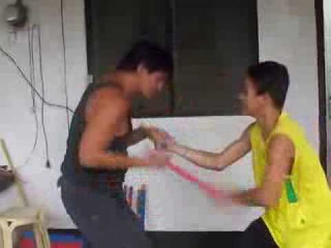 Kali, Arnis, Balintawak Eskrima Training with a 13 years old kid (The Basics) Image 1