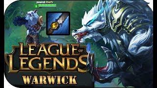 BAN FÜR EINEN MITSPIELER! WARWICK JUNGLE 🎮 League of Legends Gameplay PowrotTV
