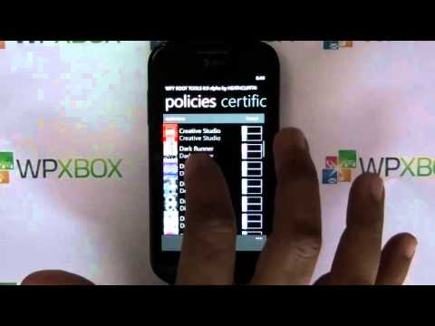 Wp7Root Tools : Root Access for your Windows Phone Apps