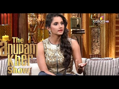 Sania Mirza - The Anupam Kher Show - Season 2 - 11th October 2015