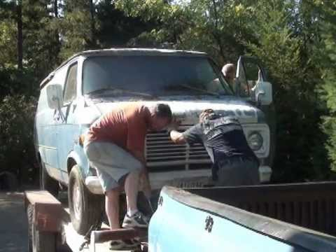 Part 1 Saved From The Crusher 1977 Chevy G 20 3/4 Ton Van Resurrection