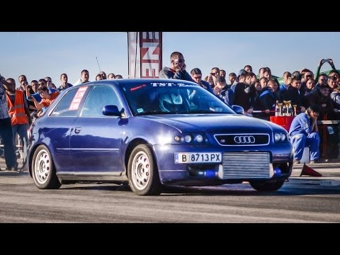 "TST-Racing Audi A3 10.026"" @ 402M // Kondofrey Drag Challenge"