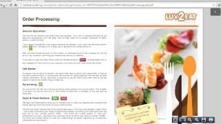 Luv2Eat - Partner Portal
