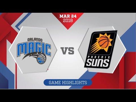 Phoenix Suns Vs Orlando Magic: March 24, 2018