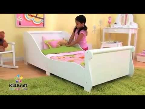 0 Toddler Bed Sleigh KidKraft