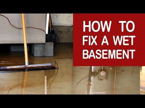 wet basement repair evansville in 812 853 6852 indiana