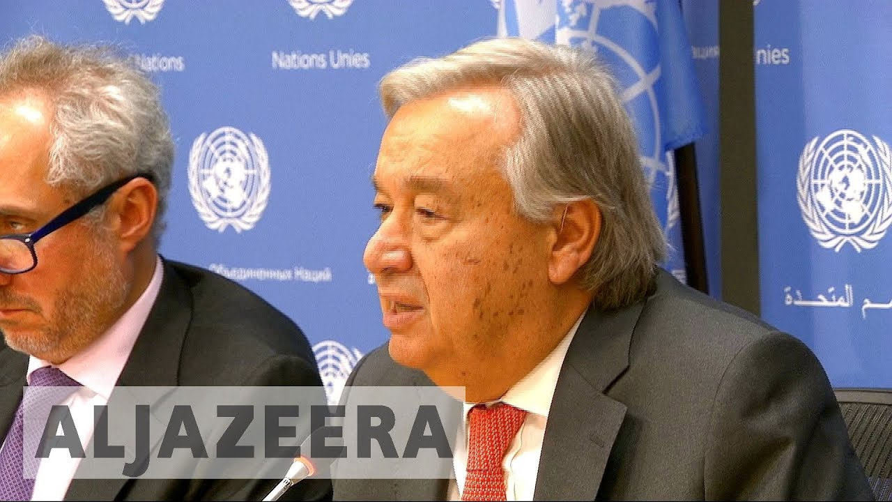 UN chief urges Myanmar to end Rohingya 'tragedy'