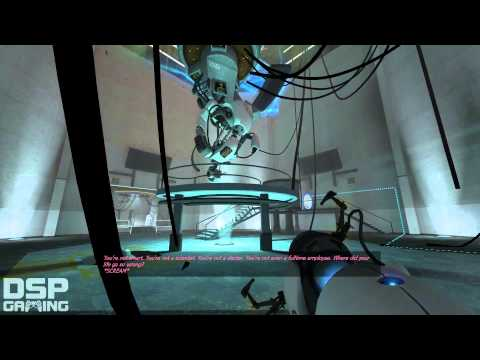 Portal (pc) Playthrough Pt13 (final, Epic Boss Fight!) video