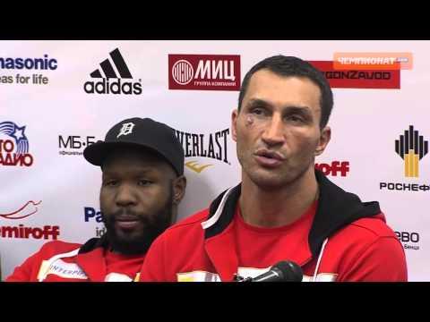 Владимир Кличко - о победе в поединке против Александра Поветкина