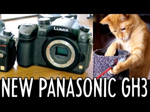 Camera Test: Panasonic GH3 vs GH2 / The Hobbit 48fps / 