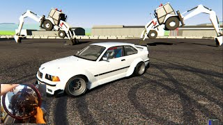 Assetto Corsa GoPro Track Attack MODS - 680hp BMW E36 Rocket Bunny