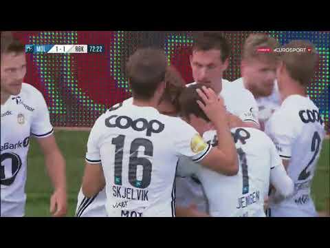 Nicklas Bendtner Scores Amazing Trivela Goal Molde Rosenborg
