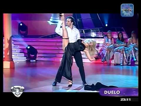 Virginia Gallardo Showmatch 1/11/10 Strip Dance Duelo