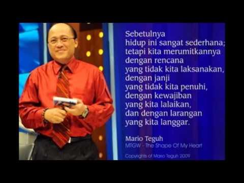 Kata Kata Mutiara, Bijak, Cinta dan Kehidupan Mario Teguh ...