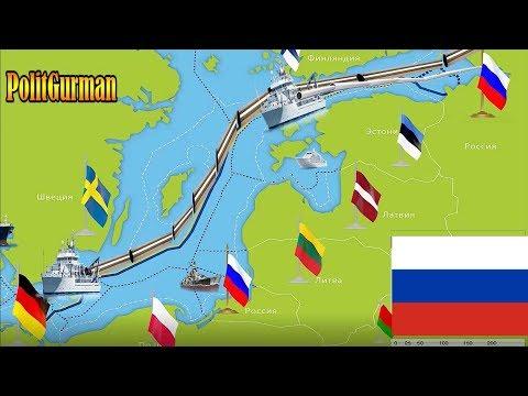 Северный поток -2 Газпром лишил Европу единства, а Польшу — смысла жизни