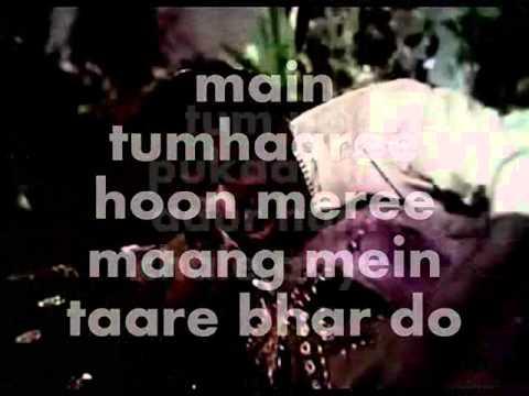 Tumne Pukara Aur Hum Chale Aaye-Karaoke & Lyrics-Rajkumar