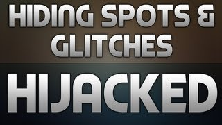 BO2: Hiding Spots + Glitches on Hijacked