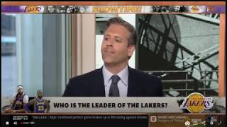 Max Kellerman AMUSED Who is the leader of the Lakers? | FIRST TAKE 7/15/2019