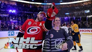 Best moments from 2020 NHL All-Star Skills competition | NBC Sports