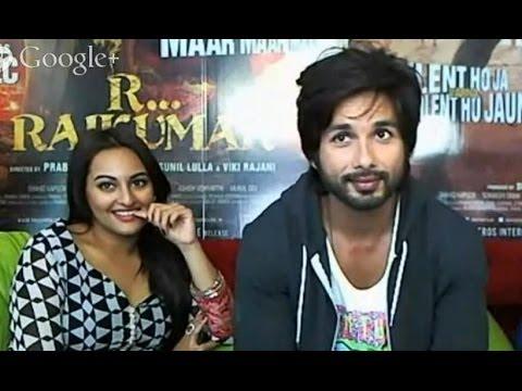 R...Rajkumar Hangout With Shahid & Sonakshi
