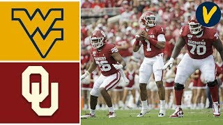 West Virginia vs #5 Oklahoma Highlights | Week 8 | College Football Highlights
