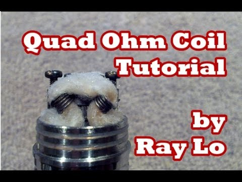 0.12Ω Quad Ohm Coil Tutorial on a Helios
