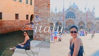ITALY PART 1, Milan + Venice! | VLOG