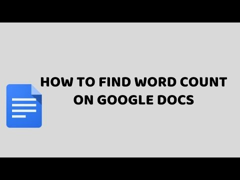 How To Find Word Count on Google Docs   Google Drive Easy Tutorials in Hindi