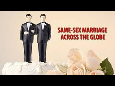 Same-sex marriage across the globe