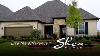 Shea Homes in Meridiana Texas South of Houston