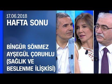 Bingür Sönmez ve Ayşegül Çoruhlu ile sağlık ve beslenme ilişkisi - Hafta Sonu 17.06.2018 Pazar