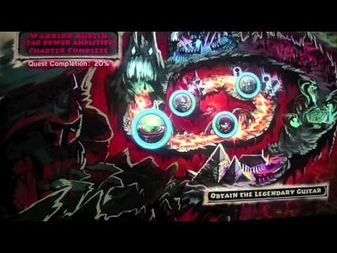 Guitar Hero Warriors of Rock Character's Transformation